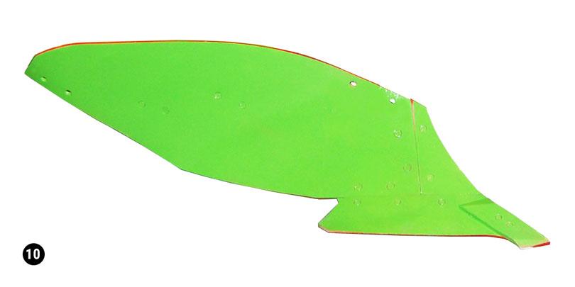 E90 mouldboard