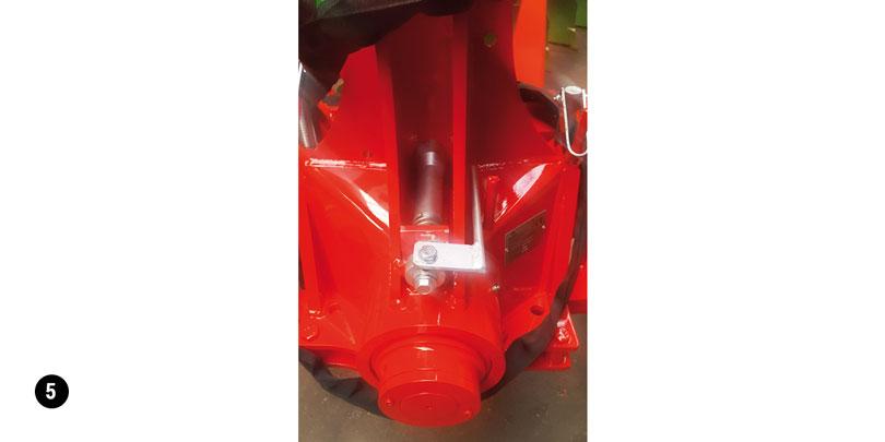 Transport lock bolt