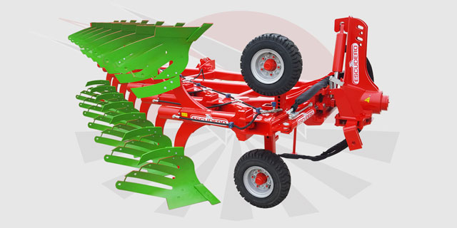 CHRH Reversible Ecologic plough