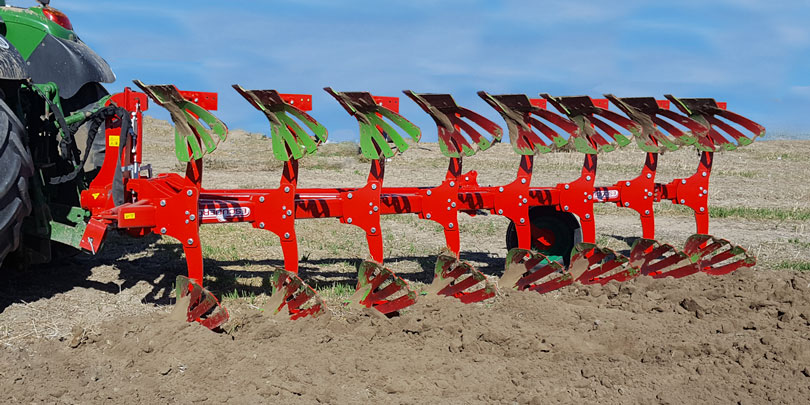 Reversible Ecologic plough chrf