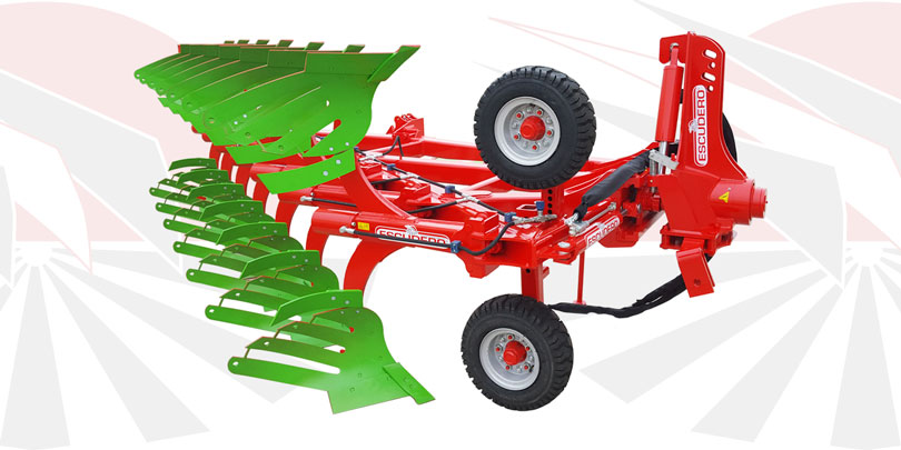 Reversible Ecologic plough chrh