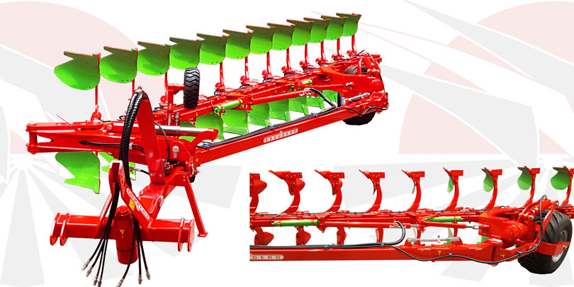 Reversible Ecologic plough chrhsmh