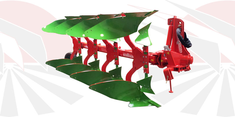 RFL Reversible mouldboard plough
