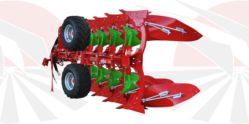 RFP Reversible mouldboard plough