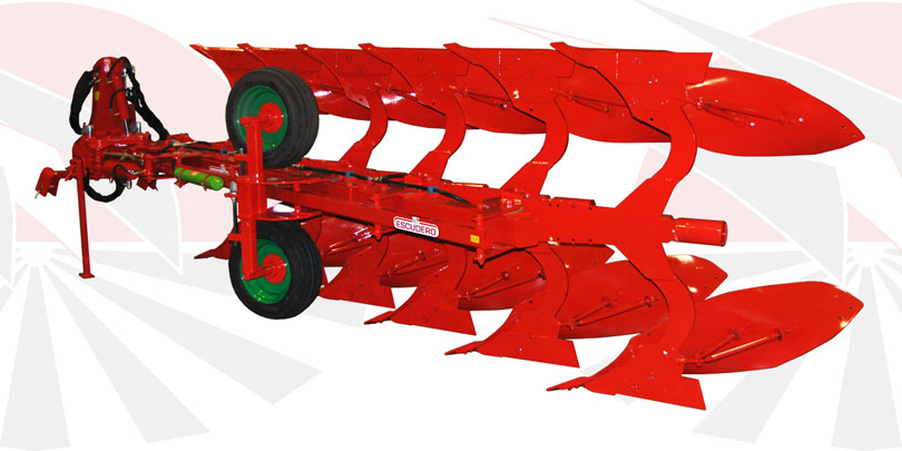 RHP Reversible mouldboard plough