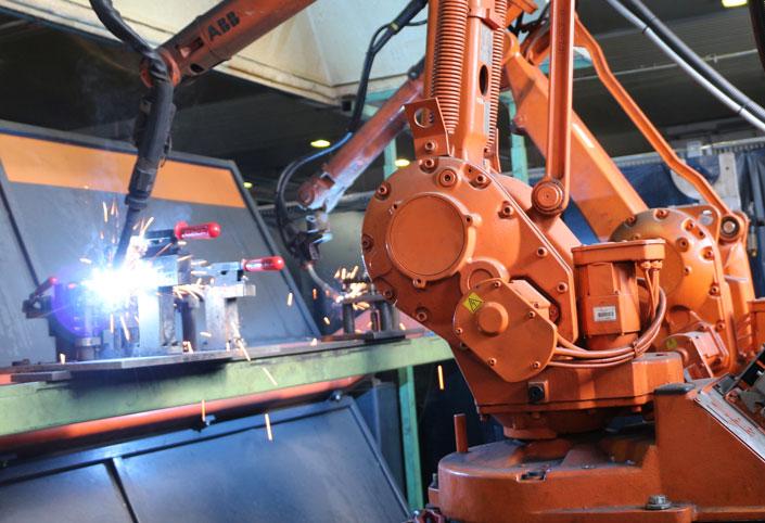 Fabrication de machines robotisées