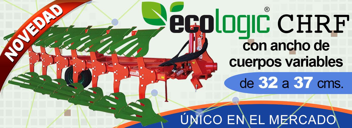 Arado ecologic chrf con ancho de cuerpos variables